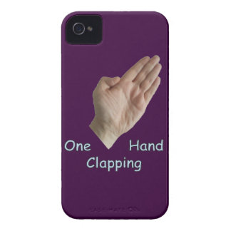 One Hand Clapping iPhone 4 Cover