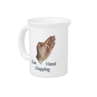 One Hand Clapping Pitcher