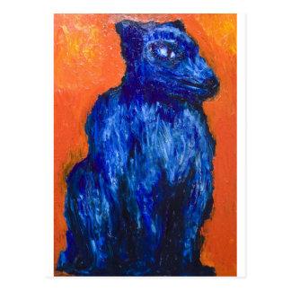One-headed Cerberus (animal symbolism ) Postcard