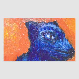 One-headed Cerberus (animal symbolism ) Sticker