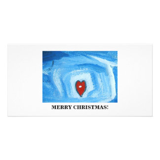 ONE HEART/CHRISTMAS PHOTO CARDS