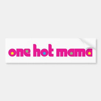 One Hot Mama Bumper Sticker