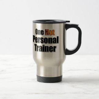 One Hot Personal Trainer Stainless Steel Travel Mug
