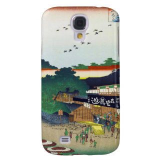 One Hundred Famous Views of Edo Ando Hiroshige Galaxy S4 Cover