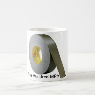 One Hundred Miles Per Hour Tape Coffee Mug