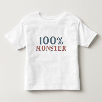 One Hundred percent Monster Toddler T-Shirt