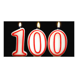 One Hundred Years in the Making Photo Greeting Card