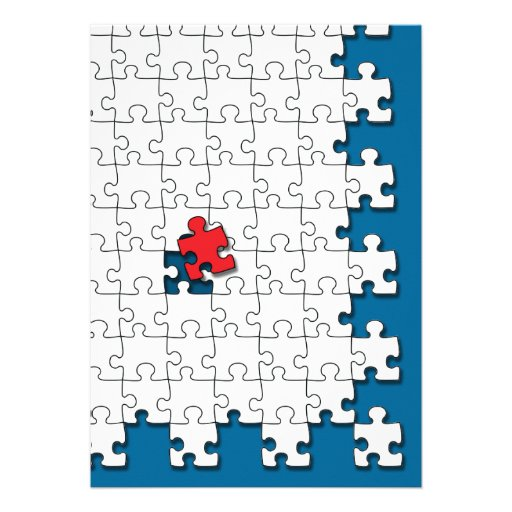 One in 110 - Autism Awareness Invitations