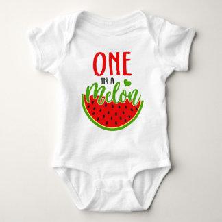 One In a Melon Baby Bodysuit
