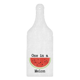 One in a Melon Cutting Board