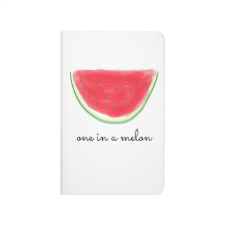 """One In A Melon"" Pocket Notebook Journal"