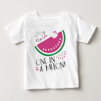 One in a Melon- Watermelon T-shirt