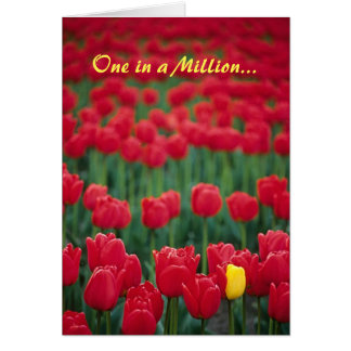 One in a Million... Greeting Card