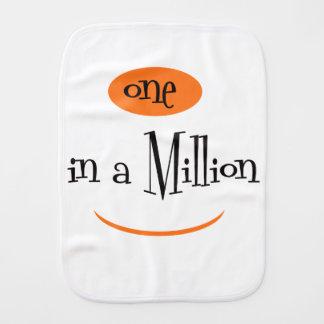 ONE IN A MILLION CARTOON Burp Cloth