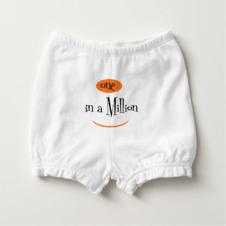 ONE IN A MILLION CARTOON  Diaper Bloomers 3-6M Nappy Cover