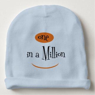 ONE IN A MILLION Cotton Beanie Light Blue Baby Beanie