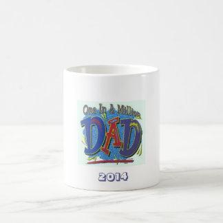 One in a million dad coffee mug