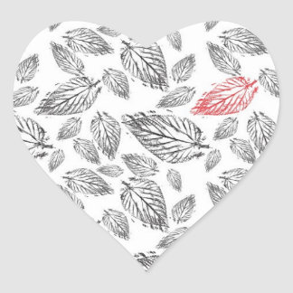 One in a million heart sticker