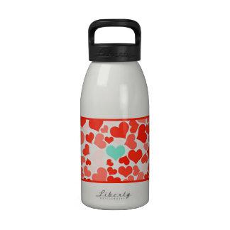 One in a Million Hearts Water Bottle