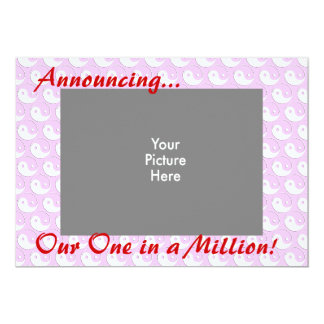 One in a Million 5x7 Paper Invitation Card