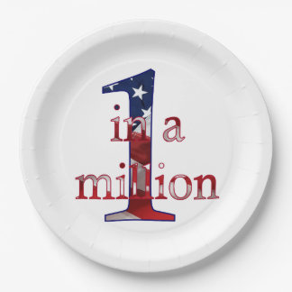 One in a Million 9 Inch Paper Plate