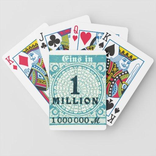 One In A Million Poker Deck