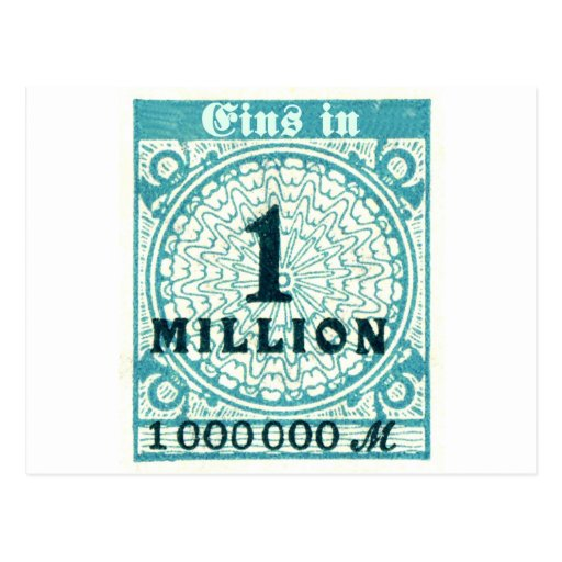 One In A Million Post Card