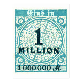One In A Million Postcard