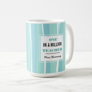 One in a Million Teacher. Teacher's Day Gift Mugs