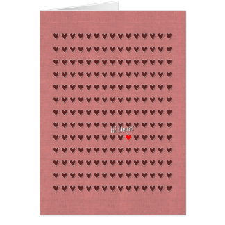 One-In-A-Million (Valentine) Greeting Card