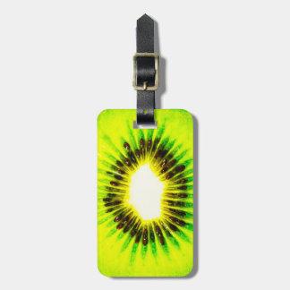 one kiwi customizable luggage tag