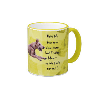 """One knows cup of """"natural without an Irish… """" Mugs"""