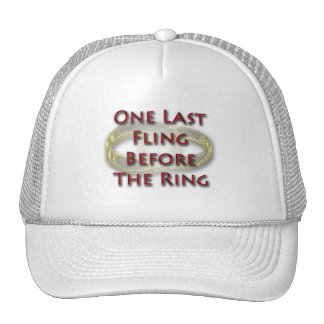 One last fling before the ring design cap
