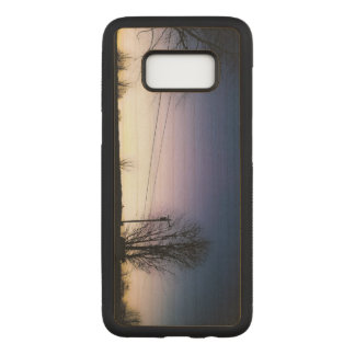 One Last Silhouette Carved Samsung Galaxy S8 Case