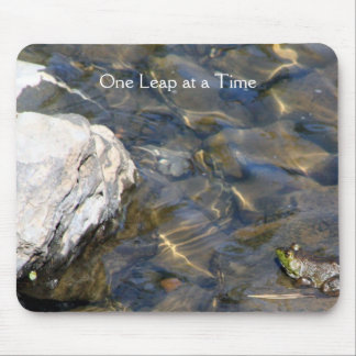 One Leap at a Time Mouse Pads
