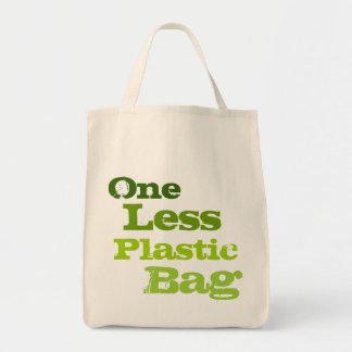 One Less Plastic  Bag