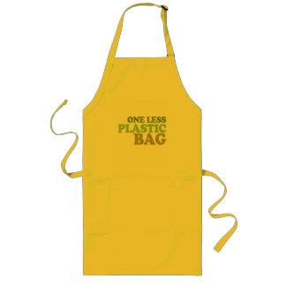 One less plastic bag apron