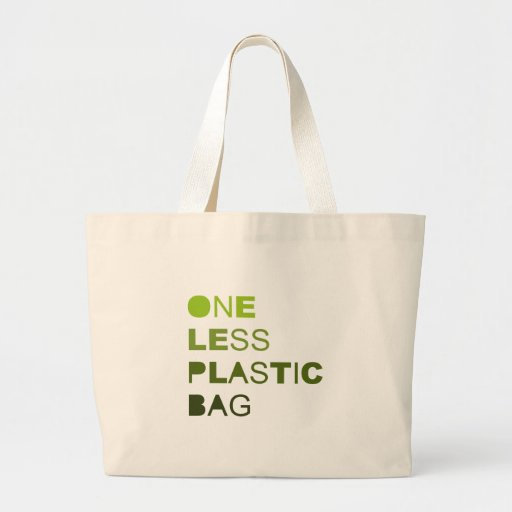 One less plastic solid bag