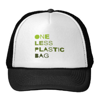 One less plastic solid hats