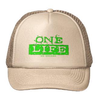 ONE LIFE NO ENCORE (lime) HAT