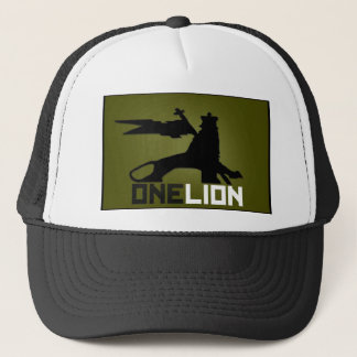 ONE LION LOGO hat