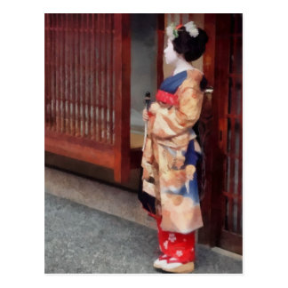 One Little Maiko Postcard