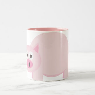 One Little Pig in Pink Mugs