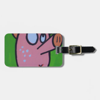 One little pig tag for luggage