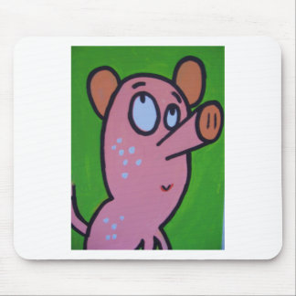 One little pig mouse pad
