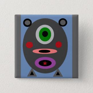 One Little Piggy 15 Cm Square Badge