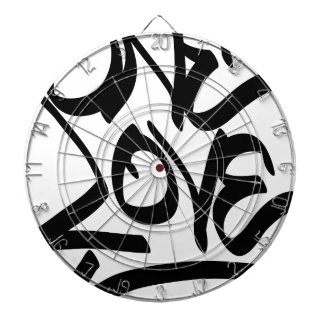 one-love dartboard