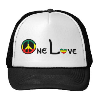 One Love Mesh Hat