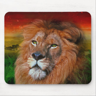 One Love Lion II - Mouse Pad