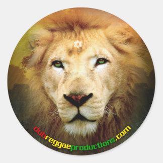 One Love Lion Sticker
